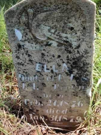BROWN, ELLA - Fulton County, Arkansas | ELLA BROWN - Arkansas Gravestone Photos