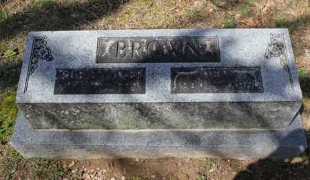BROWN, FAMILY - Fulton County, Arkansas | FAMILY BROWN - Arkansas Gravestone Photos