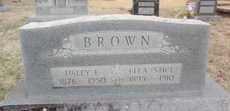 BROWN, HALEY E. - Fulton County, Arkansas | HALEY E. BROWN - Arkansas Gravestone Photos
