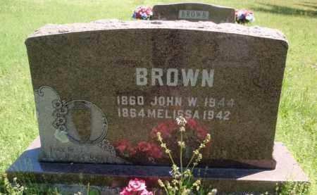 BROWN, JOHN W - Fulton County, Arkansas | JOHN W BROWN - Arkansas Gravestone Photos