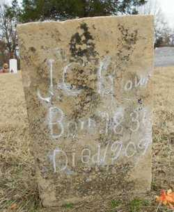 BROWN, J. C. - Fulton County, Arkansas | J. C. BROWN - Arkansas Gravestone Photos