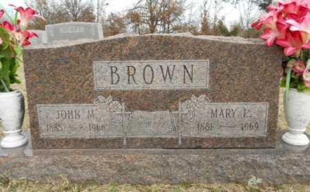 BROWN, JOHN MADISON - Fulton County, Arkansas | JOHN MADISON BROWN - Arkansas Gravestone Photos