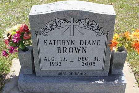 BROWN, KATHRYN DIANE - Fulton County, Arkansas   KATHRYN DIANE BROWN - Arkansas Gravestone Photos
