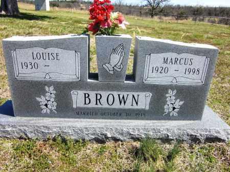 BROWN, MARCUS DUNCAN (2) - Fulton County, Arkansas | MARCUS DUNCAN (2) BROWN - Arkansas Gravestone Photos