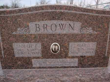 BROWN, MOLLIE E. - Fulton County, Arkansas | MOLLIE E. BROWN - Arkansas Gravestone Photos