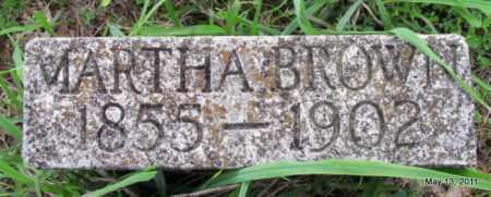BROWN, MARTHA - Fulton County, Arkansas | MARTHA BROWN - Arkansas Gravestone Photos