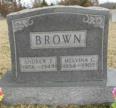 BROWN, MELVINA LUCINDA - Fulton County, Arkansas | MELVINA LUCINDA BROWN - Arkansas Gravestone Photos