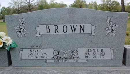 BROWN, NEVA C - Fulton County, Arkansas | NEVA C BROWN - Arkansas Gravestone Photos