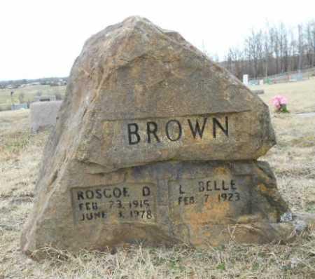 BROWN, ROSCOE DELANO - Fulton County, Arkansas   ROSCOE DELANO BROWN - Arkansas Gravestone Photos