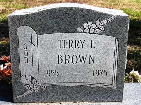 BROWN, TERRY L. - Fulton County, Arkansas | TERRY L. BROWN - Arkansas Gravestone Photos