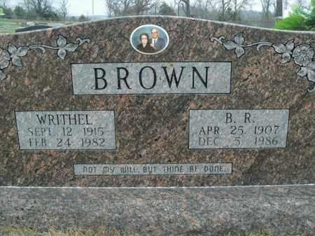 BROWN, WRITHEL - Fulton County, Arkansas | WRITHEL BROWN - Arkansas Gravestone Photos