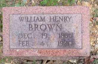 BROWN, WILLIAM HENRY - Fulton County, Arkansas | WILLIAM HENRY BROWN - Arkansas Gravestone Photos