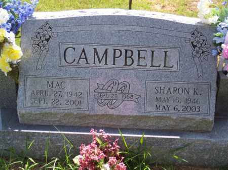CAMPBELL, MAC - Fulton County, Arkansas | MAC CAMPBELL - Arkansas Gravestone Photos