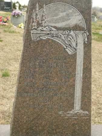 CANTRELL, VERLIN GENE - Fulton County, Arkansas | VERLIN GENE CANTRELL - Arkansas Gravestone Photos