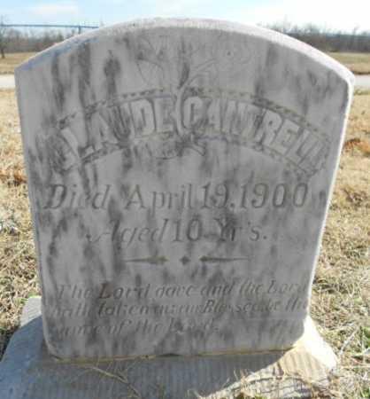 CANTRELL, CLAUDE - Fulton County, Arkansas | CLAUDE CANTRELL - Arkansas Gravestone Photos