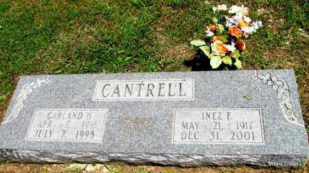 CANTRELL, GARLAND H - Fulton County, Arkansas | GARLAND H CANTRELL - Arkansas Gravestone Photos