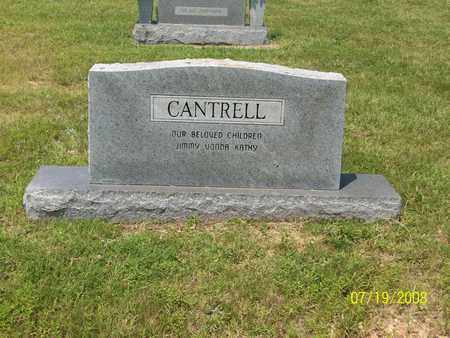 CANTRELL, GENE  (BACK OF STONE) - Fulton County, Arkansas   GENE  (BACK OF STONE) CANTRELL - Arkansas Gravestone Photos