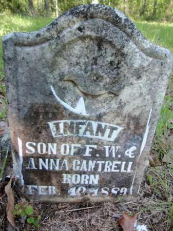 CANTRELL, INFANT SON - Fulton County, Arkansas | INFANT SON CANTRELL - Arkansas Gravestone Photos