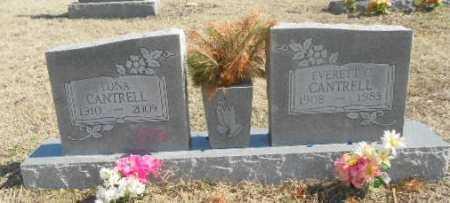 CANTRELL, LONA - Fulton County, Arkansas | LONA CANTRELL - Arkansas Gravestone Photos