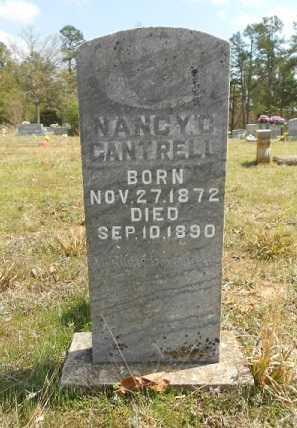 CANTRELL, NANCY O. - Fulton County, Arkansas | NANCY O. CANTRELL - Arkansas Gravestone Photos