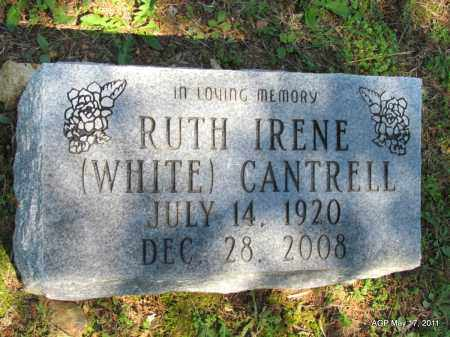 CANTRELL, RUTH IRENE - Fulton County, Arkansas | RUTH IRENE CANTRELL - Arkansas Gravestone Photos