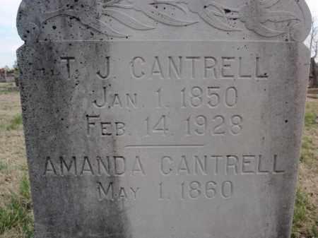 CANTRELL, AMANDA - Fulton County, Arkansas | AMANDA CANTRELL - Arkansas Gravestone Photos