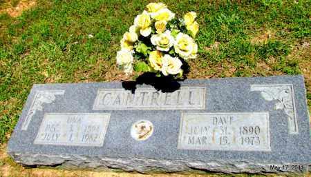 CANTRELL, DAVE - Fulton County, Arkansas | DAVE CANTRELL - Arkansas Gravestone Photos