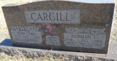 CARGILL, ATHA R. - Fulton County, Arkansas | ATHA R. CARGILL - Arkansas Gravestone Photos