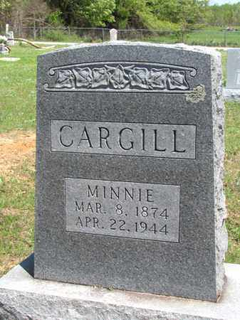 CARGILL, MINNIE - Fulton County, Arkansas | MINNIE CARGILL - Arkansas Gravestone Photos