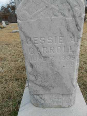 "CARROLL, JESSIE ANDREW ""ANDY"" (CLOSE UP) - Fulton County, Arkansas | JESSIE ANDREW ""ANDY"" (CLOSE UP) CARROLL - Arkansas Gravestone Photos"