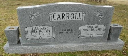 CARROLL, JR. (VETERAN), ERBY RUE (OBIT) - Fulton County, Arkansas | ERBY RUE (OBIT) CARROLL, JR. (VETERAN) - Arkansas Gravestone Photos