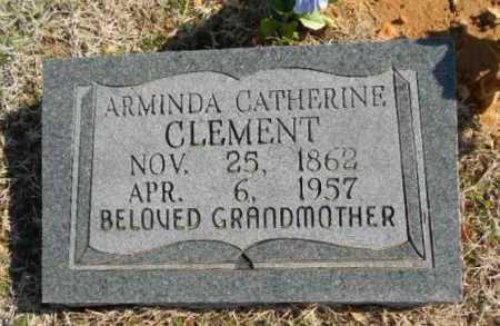 CLEMENT (2), ARMINDA CATHERINE - Fulton County, Arkansas | ARMINDA CATHERINE CLEMENT (2) - Arkansas Gravestone Photos