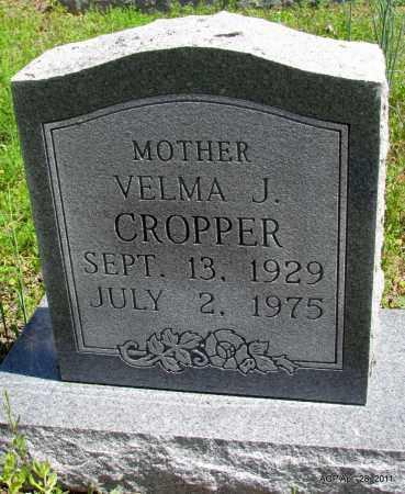 CROPPER, VELMA J - Fulton County, Arkansas | VELMA J CROPPER - Arkansas Gravestone Photos
