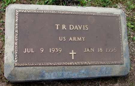 DAVIS (VETERAN), T R - Fulton County, Arkansas | T R DAVIS (VETERAN) - Arkansas Gravestone Photos