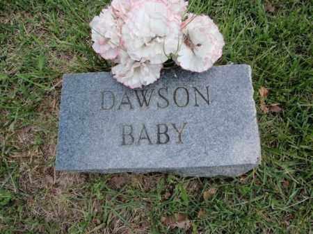 DAWSON, BABY - Fulton County, Arkansas | BABY DAWSON - Arkansas Gravestone Photos