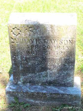 DAWSON, DAVID - Fulton County, Arkansas | DAVID DAWSON - Arkansas Gravestone Photos