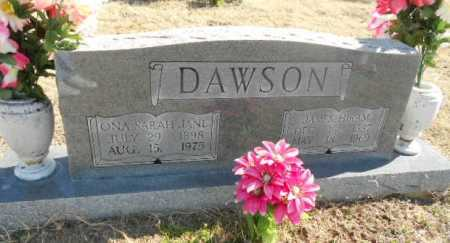 "DAWSON, ONA SARAH JANE ""ONIE"" - Fulton County, Arkansas   ONA SARAH JANE ""ONIE"" DAWSON - Arkansas Gravestone Photos"