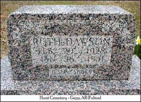 DAWSON, RUTH - Fulton County, Arkansas | RUTH DAWSON - Arkansas Gravestone Photos