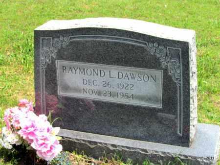DAWSON, RAYMOND L - Fulton County, Arkansas | RAYMOND L DAWSON - Arkansas Gravestone Photos