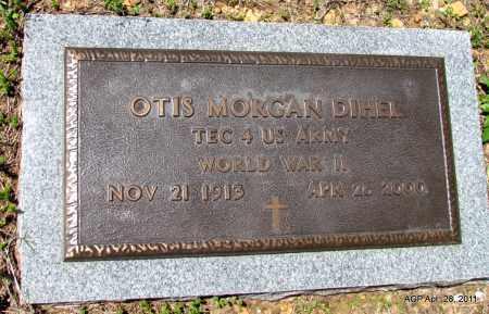 DIHEL (VETERAN WWII), OTIS MORGAN - Fulton County, Arkansas | OTIS MORGAN DIHEL (VETERAN WWII) - Arkansas Gravestone Photos