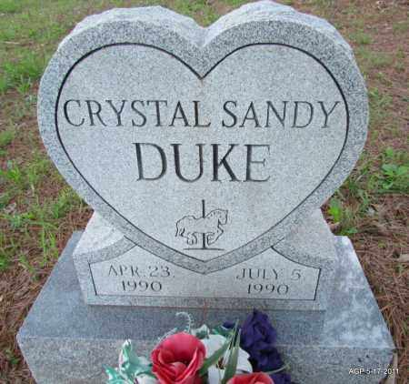 DUKE, CRYSTAL SANDY - Fulton County, Arkansas | CRYSTAL SANDY DUKE - Arkansas Gravestone Photos
