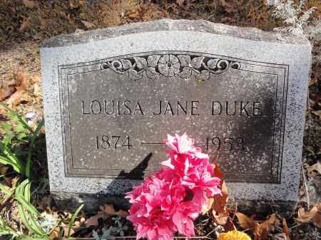 MANRY DUKE, LOUISA JANE - Fulton County, Arkansas | LOUISA JANE MANRY DUKE - Arkansas Gravestone Photos