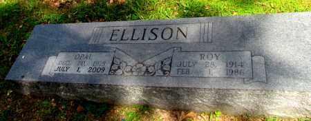 ELLISON, ROY - Fulton County, Arkansas | ROY ELLISON - Arkansas Gravestone Photos