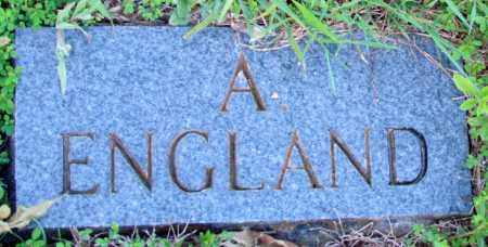 ENGLAND, A - Fulton County, Arkansas | A ENGLAND - Arkansas Gravestone Photos