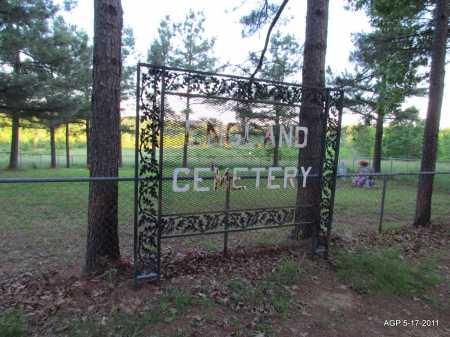 *ENGLAND CEMETERY SIGN,  - Fulton County, Arkansas    *ENGLAND CEMETERY SIGN - Arkansas Gravestone Photos