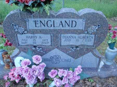 ENGLAND, HARRY A - Fulton County, Arkansas | HARRY A ENGLAND - Arkansas Gravestone Photos
