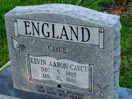 ENGLAND, KEVIN ARRON CAYCE - Fulton County, Arkansas | KEVIN ARRON CAYCE ENGLAND - Arkansas Gravestone Photos