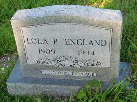 ENGLAND, LOLA P - Fulton County, Arkansas | LOLA P ENGLAND - Arkansas Gravestone Photos
