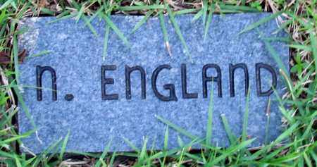 ENGLAND, N - Fulton County, Arkansas | N ENGLAND - Arkansas Gravestone Photos