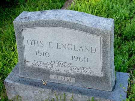 ENGLAND, OTIS T - Fulton County, Arkansas | OTIS T ENGLAND - Arkansas Gravestone Photos